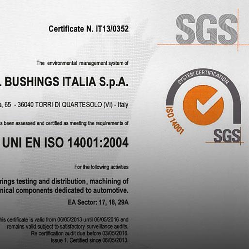 ISO 14001 / UNI EN ISO 14001:2004